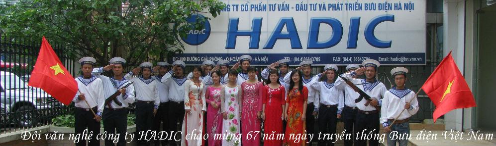 Văn nghệ HADIC chào mừng 67 truyền thống Bưu điện Việt Nam