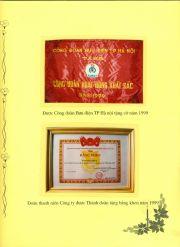 HADIC_Sổ vàng truyền thống-Công đoàn Bưu điện HN 1999