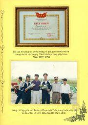 HADIC_Sổ vàng truyền thống - Giấy khen 97-98, hoạt động nhảy dù