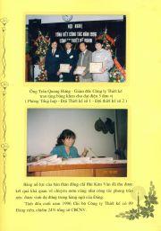 HADIC_Sổ vàng truyền thống_Ô Trần Quang Hưng trao bằng khen cho 3 đơn vị